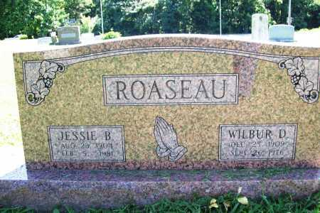 ROASEAU, JESSIE B. - Benton County, Arkansas | JESSIE B. ROASEAU - Arkansas Gravestone Photos