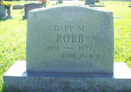 ROBB, GARY M. - Benton County, Arkansas   GARY M. ROBB - Arkansas Gravestone Photos