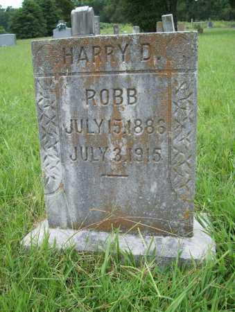 ROBB, HARRY D - Benton County, Arkansas | HARRY D ROBB - Arkansas Gravestone Photos