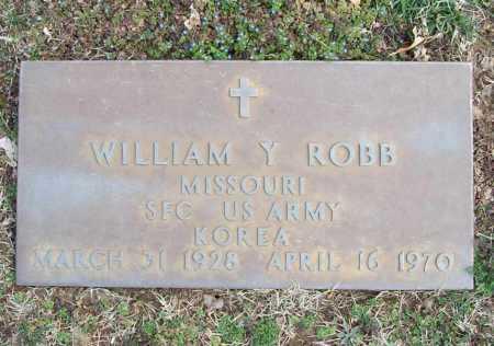 ROBB (VETERAN KOR), WILLIAM Y - Benton County, Arkansas | WILLIAM Y ROBB (VETERAN KOR) - Arkansas Gravestone Photos