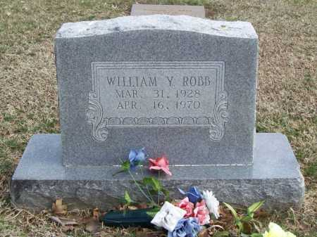 ROBB, WILLIAM Y. - Benton County, Arkansas | WILLIAM Y. ROBB - Arkansas Gravestone Photos