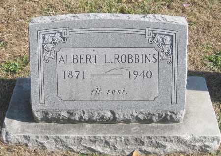 ROBBINS, ALBERT L. - Benton County, Arkansas | ALBERT L. ROBBINS - Arkansas Gravestone Photos