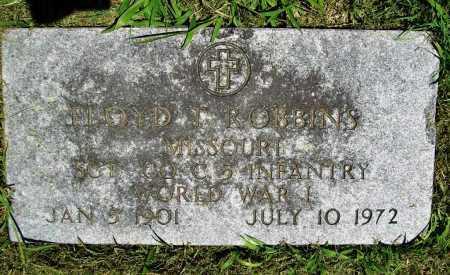 ROBBINS (VETERAN WWI), FLOYD T. - Benton County, Arkansas | FLOYD T. ROBBINS (VETERAN WWI) - Arkansas Gravestone Photos