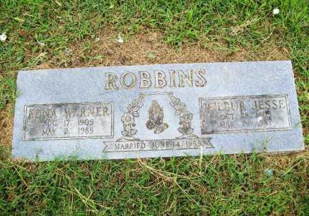ROBBINS, WILBUR JESSE - Benton County, Arkansas | WILBUR JESSE ROBBINS - Arkansas Gravestone Photos