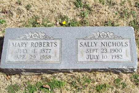 NICHOLS, SALLY - Benton County, Arkansas | SALLY NICHOLS - Arkansas Gravestone Photos
