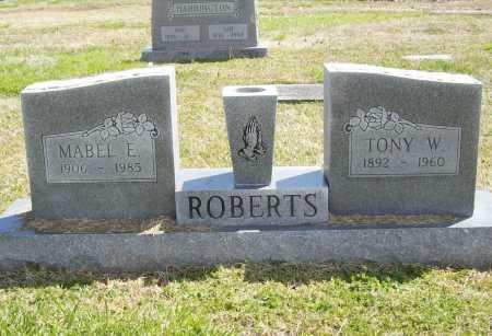 ROBERTS, TONY W. - Benton County, Arkansas   TONY W. ROBERTS - Arkansas Gravestone Photos