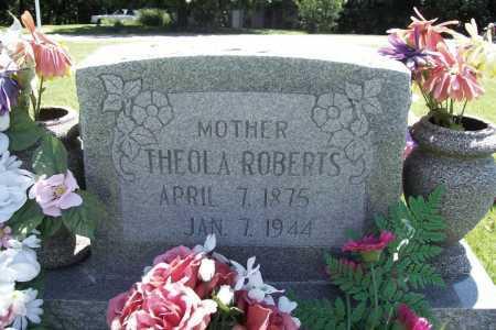 ROBERTS, THEOLA - Benton County, Arkansas   THEOLA ROBERTS - Arkansas Gravestone Photos