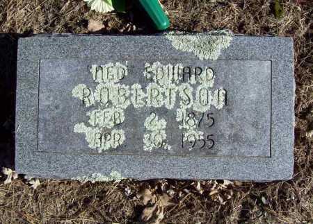 "ROBERTSON, ""RED"" EDWARD - Benton County, Arkansas | ""RED"" EDWARD ROBERTSON - Arkansas Gravestone Photos"
