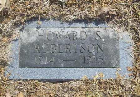 ROBERTSON, HOWARD S. - Benton County, Arkansas | HOWARD S. ROBERTSON - Arkansas Gravestone Photos