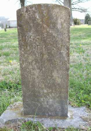 ROBERTSON, JOSEPH - Benton County, Arkansas | JOSEPH ROBERTSON - Arkansas Gravestone Photos