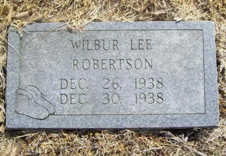 ROBERTSON, WILBUR LEE - Benton County, Arkansas   WILBUR LEE ROBERTSON - Arkansas Gravestone Photos