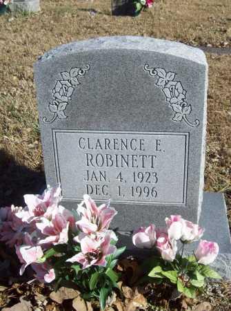 ROBINETT, CLARENCE E. - Benton County, Arkansas | CLARENCE E. ROBINETT - Arkansas Gravestone Photos