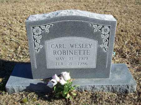ROBINETTE, CARL WESLEY - Benton County, Arkansas   CARL WESLEY ROBINETTE - Arkansas Gravestone Photos