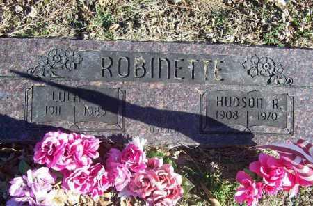 ROBINETTE, LULA R. - Benton County, Arkansas   LULA R. ROBINETTE - Arkansas Gravestone Photos