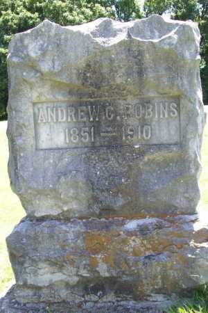 ROBINS, ANDREW C. - Benton County, Arkansas | ANDREW C. ROBINS - Arkansas Gravestone Photos
