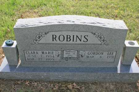 ROBINS, CLARA MARIE - Benton County, Arkansas   CLARA MARIE ROBINS - Arkansas Gravestone Photos