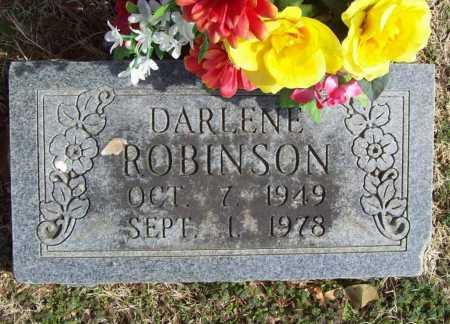 ROBINSON, DARLENE - Benton County, Arkansas | DARLENE ROBINSON - Arkansas Gravestone Photos