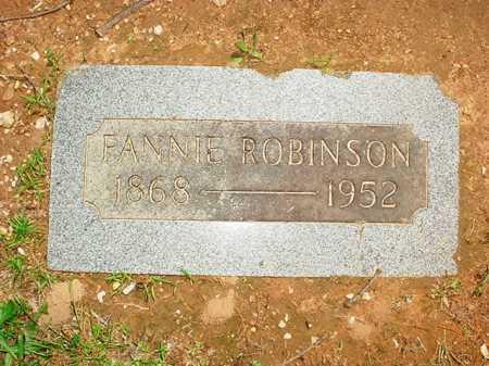 ROBINSON, FANNIE - Benton County, Arkansas   FANNIE ROBINSON - Arkansas Gravestone Photos