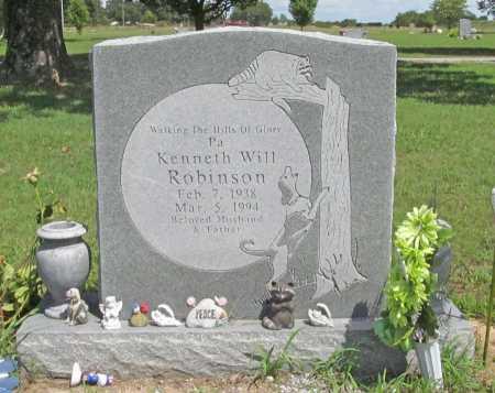 ROBINSON, KENNETH WILL - Benton County, Arkansas | KENNETH WILL ROBINSON - Arkansas Gravestone Photos