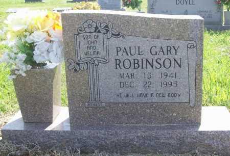 ROBINSON, PAUL GARY - Benton County, Arkansas   PAUL GARY ROBINSON - Arkansas Gravestone Photos