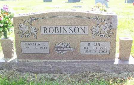 ROBINSON, RUBY LUIE - Benton County, Arkansas | RUBY LUIE ROBINSON - Arkansas Gravestone Photos