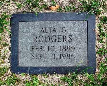 RODGERS, ALTA GRACE - Benton County, Arkansas | ALTA GRACE RODGERS - Arkansas Gravestone Photos