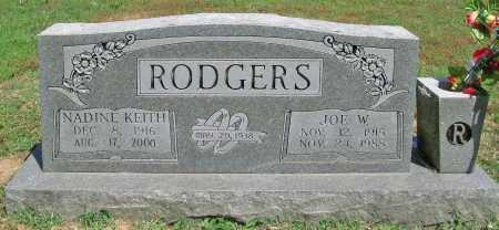 RODGERS, JOE W - Benton County, Arkansas | JOE W RODGERS - Arkansas Gravestone Photos