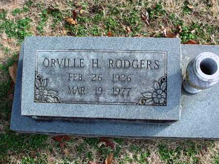 RODGERS, ORVILLE HENRY - Benton County, Arkansas | ORVILLE HENRY RODGERS - Arkansas Gravestone Photos