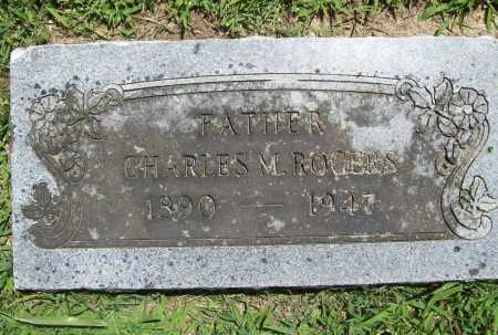ROGERS, CHARLES M. - Benton County, Arkansas   CHARLES M. ROGERS - Arkansas Gravestone Photos