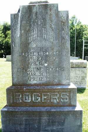 ROGERS, ERNESTINE - Benton County, Arkansas   ERNESTINE ROGERS - Arkansas Gravestone Photos