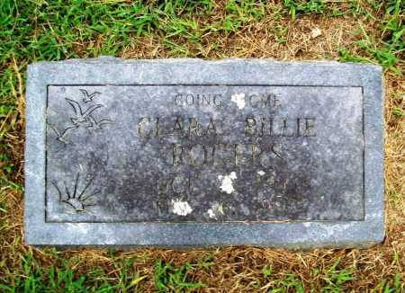 ROGERS, CLARA BILLIE - Benton County, Arkansas | CLARA BILLIE ROGERS - Arkansas Gravestone Photos
