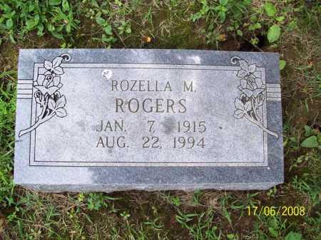 ROGERS, ROZELLA M. - Benton County, Arkansas | ROZELLA M. ROGERS - Arkansas Gravestone Photos