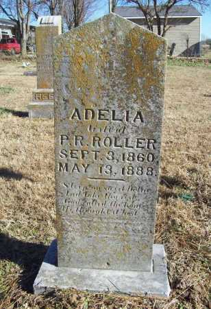 ROLLER, ADELIA - Benton County, Arkansas | ADELIA ROLLER - Arkansas Gravestone Photos