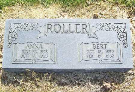 ROLLER, ANNA - Benton County, Arkansas | ANNA ROLLER - Arkansas Gravestone Photos