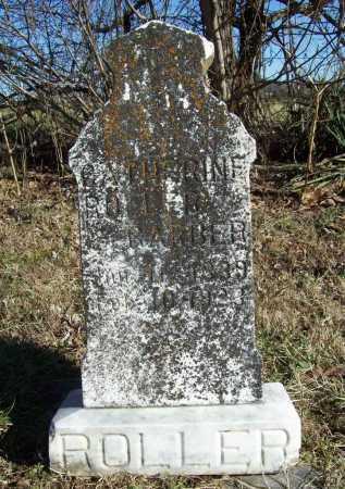 ROLLER GARBER, CATHERINE - Benton County, Arkansas | CATHERINE ROLLER GARBER - Arkansas Gravestone Photos