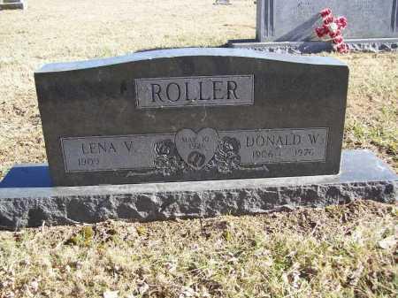 ROLLER, LENA V. - Benton County, Arkansas | LENA V. ROLLER - Arkansas Gravestone Photos