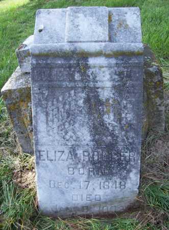 ROLLER, ELIZA - Benton County, Arkansas   ELIZA ROLLER - Arkansas Gravestone Photos