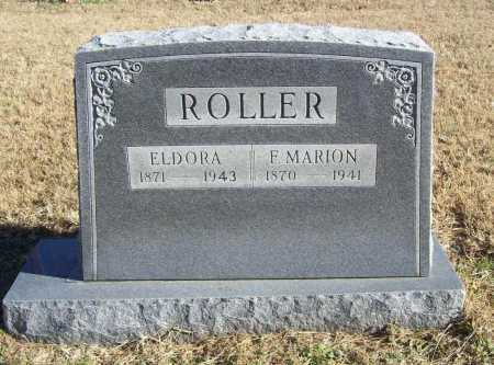 ROLLER, F. MARION - Benton County, Arkansas | F. MARION ROLLER - Arkansas Gravestone Photos