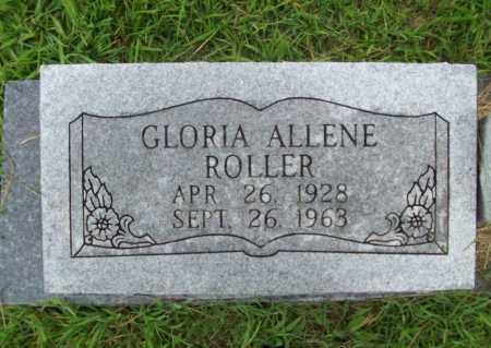 ROLLER, GLORIA ALLENE - Benton County, Arkansas | GLORIA ALLENE ROLLER - Arkansas Gravestone Photos