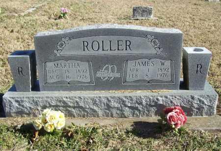 ROLLER, MARTHA - Benton County, Arkansas | MARTHA ROLLER - Arkansas Gravestone Photos