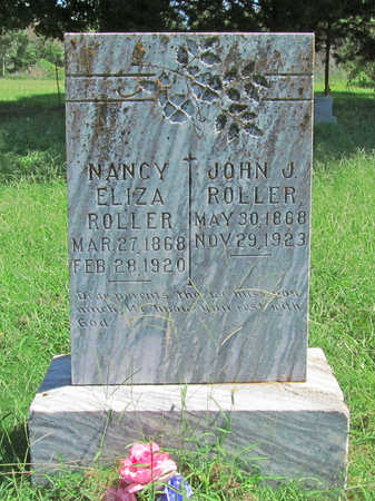 ROLLER, NANCY ELIZA - Benton County, Arkansas | NANCY ELIZA ROLLER - Arkansas Gravestone Photos