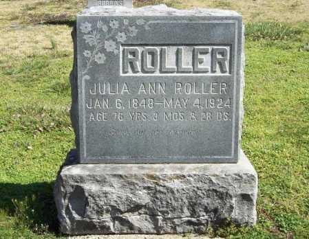 ROLLER, JULIA ANN - Benton County, Arkansas   JULIA ANN ROLLER - Arkansas Gravestone Photos