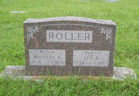 ROLLER, LEE R. - Benton County, Arkansas | LEE R. ROLLER - Arkansas Gravestone Photos