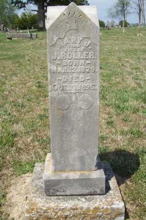 ROLLER, MARY J. - Benton County, Arkansas | MARY J. ROLLER - Arkansas Gravestone Photos