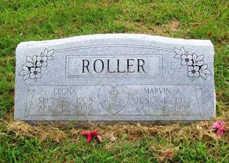 ROLLER, LEONA - Benton County, Arkansas | LEONA ROLLER - Arkansas Gravestone Photos