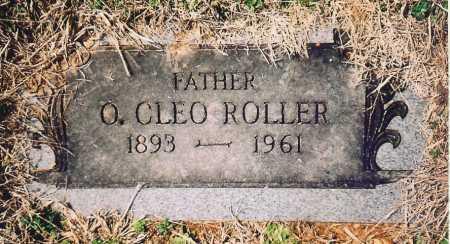 ROLLER, O. CLEO - Benton County, Arkansas   O. CLEO ROLLER - Arkansas Gravestone Photos