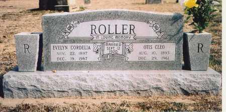 ROLLER, EVELYN CORDELIA - Benton County, Arkansas | EVELYN CORDELIA ROLLER - Arkansas Gravestone Photos