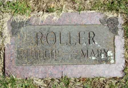 ROLLER, PHILLIP R. (FOOTSTONE) - Benton County, Arkansas   PHILLIP R. (FOOTSTONE) ROLLER - Arkansas Gravestone Photos