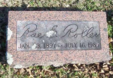 ROLLER, RAE E. - Benton County, Arkansas | RAE E. ROLLER - Arkansas Gravestone Photos
