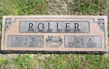 ROLLER, ROY ANDERSON - Benton County, Arkansas | ROY ANDERSON ROLLER - Arkansas Gravestone Photos